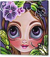 Fairy Of The Insects Canvas Print
