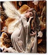Fairy Of The Key Canvas Print