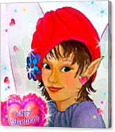 Fairy Valentine Canvas Print