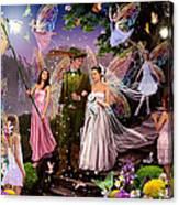 Fairy Wedding Canvas Print