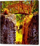 Fairytale Bridge Canvas Print