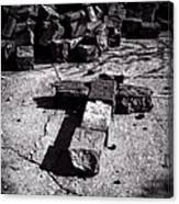 Faith Among The Ruins Canvas Print