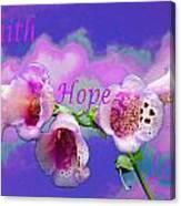 Faith-hope-love Canvas Print