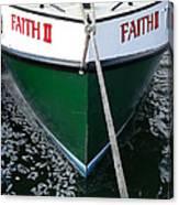 Faith II Fishing Boat Canvas Print