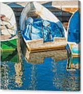 Faithful Working Boats Canvas Print