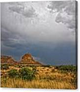 Fajada Butte Storm Canvas Print