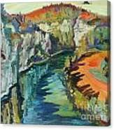 Falaise Canvas Print