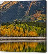 Fall Along The Forebay Canvas Print
