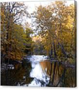 Fall Along The Wissahickon Canvas Print