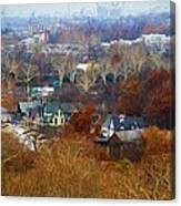 Fall At Boathouse Row Canvas Print
