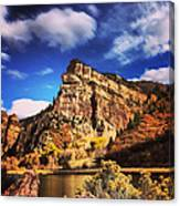 Fall At Hanging Lake Colorado Canvas Print