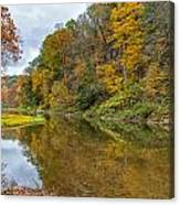 Fall At Little Beaver Creek Canvas Print