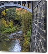 Fall At Mill Creek Park Canvas Print