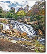 Fall At Reedy River Canvas Print