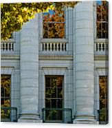 Fall At The Capitol Canvas Print