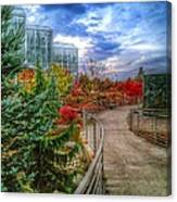 Fall At The Gardens Canvas Print