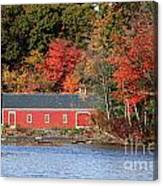 Fall At The Mill Canvas Print