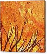 Fall At The Shore Canvas Print