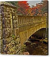 Fall Bridge Canvas Print