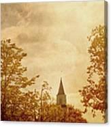Fall Church Canvas Print