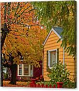 Fall Color Co-ordinated Canvas Print