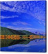 Fall Color Oxbow Bend Grand Tetons National Park Wyoming Canvas Print