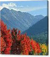 Fall Colors In Joseph Or Canvas Print