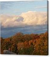 Fall Colors In New England Canvas Print