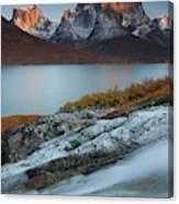 Fall Colors In Tasermiut Fiord Canvas Print