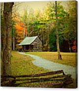 Fall Color's Canvas Print