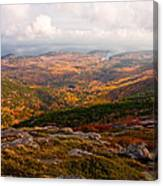 Fall Colors Of Acadia 6656 Canvas Print