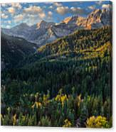 Fall Colors On Mt. Timpanogos Canvas Print