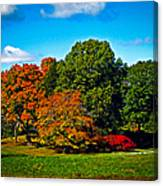 Fall Colours In Massachusetts Canvas Print