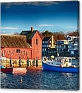 Fall Comes To Rockport Canvas Print