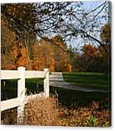 Fall Comes To The Hollow Canvas Print
