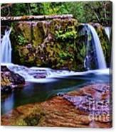 Fall Creek Oregon 3 Canvas Print