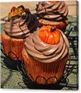 Fall Cupcakes Canvas Print