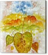 Fall Cycle Canvas Print