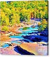 Fall Drought @ Ashokan Canvas Print