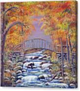 Fall Falling Canvas Print