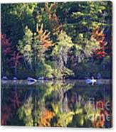 Fall Fishing Canvas Print
