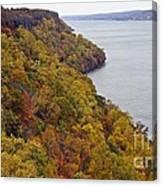 Fall Foliage On The New Jersey Palisades II Canvas Print