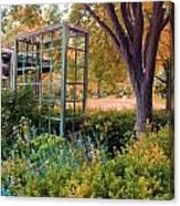 Fall Herb Garden0981 Canvas Print