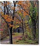 Fall Homestead Canvas Print