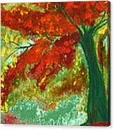 Fall Impression By Jrr Canvas Print