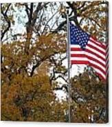 Fall In America Canvas Print