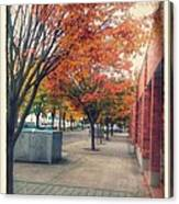 Fall In Downtown Vancouver Washington Canvas Print