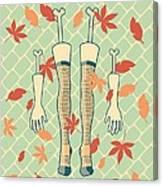 Fall In Love Canvas Print
