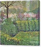Fall In Monet's Garden Canvas Print