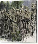Fall In Norfolk Volunteers Canvas Print